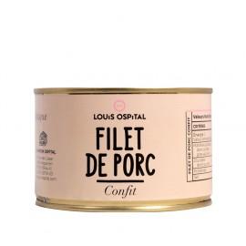 Filet de porc confit 2/3 parts