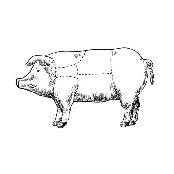 Le Porc entier
