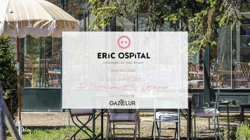 Restaurant Gaztelur et Eric Ospital